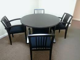 small round office table desk and chair conference chairs