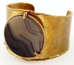 br cuff bracelet with beautiful inset polished stone beautiful bracelet beautiful stone beautiful br patina