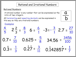 Rational And Irrational Numbers Ppt Download