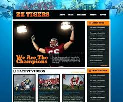 Baseball Websites Templates Softball Website Template Virtualis Info