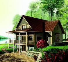 Lake House Plans Walkout Basement Lake House Plans  lake home    Lake House Plans Walkout Basement Lake House Plans