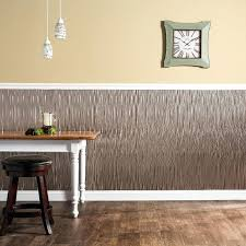 backsplash panel waves vertical 4 x 8 panel in brushed nickel backsplash wall panels for kitchen