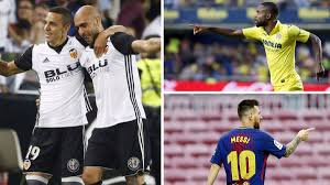 Pichichi Laliga Top Scorers Chart Has A Different Look