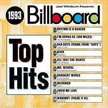 Pop Charts 1993 Billboard Top Hits 1993 Revolvy