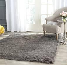 image of new faux sheepskin rug