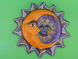 sun and moon wall art fresh nice sun moon mask wall decor mexico folk art