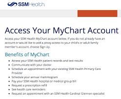 My Chart Ssm Dean Www Ssmhealth Com Mychart Mychart Ssm Health
