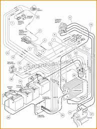 6 36 volt club car golf cart wiring diagram