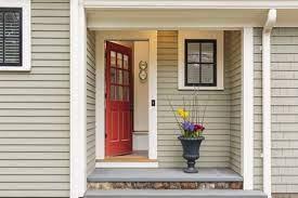 window grille in an exterior door