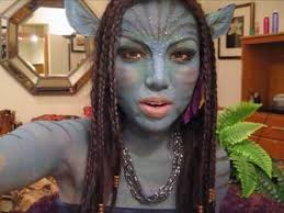 navi makeup tutorial neytiri avatar make uptutorial avatar makeup tutorial avatar