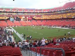 Fedex Field Seating Chart Washington Redskins Seating Guide Fedexfield