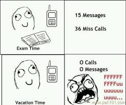 Funny Picture funny exam and vacation | Pak101.com