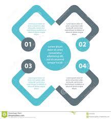 Simple Info Graphics Plain Minimal Simple Infographics Vector Eps10 Stock Vector