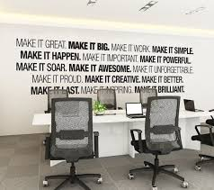 office decoration. office wall art corporate supplies by homeartstickers decoration n