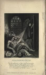 frankenstein 1818 novel