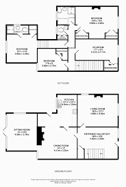 one story house plans with theater room lovely 4 room house plan best house plans with