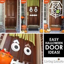 halloween front door decorationsEasy DIY Halloween Door Ideas  Monster Craft