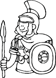 Roman Soldier Coloring Pages Free Gallery Of Free Printable Coloring