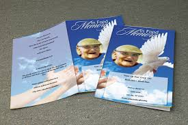 Sample Obituary | Funeral Template | Funeral Program