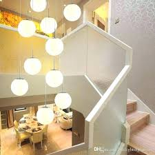 stairwell pendant lights stairwell staircase pendant lighting ideas