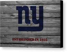 giants canvas print featuring the photograph new york giants by joe hamilton wall view 001 on ny giants canvas wall art with new york giants canvas print canvas art by joe hamilton