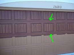 painting garage doorPaint Your Own Garage Door To Look Like Wood  Everything I Create