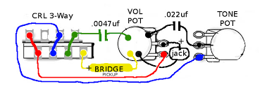 esquire wiring mods esquire image wiring diagram tele converted to esquire on esquire wiring mods