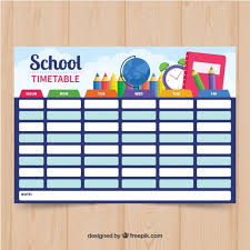 Picture Of Time Table Chart School Time Table Chart Decoration Ideas Www