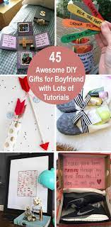 45 awesome diy gifts for boyfriend with