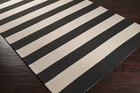 rectangular black and white striped rug on dark hardwood floor area rugs decofurnish blue best navy custom karastan multi coloured wonderful