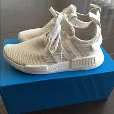 adidas shoes nmd womens. adidas shoes - nmd women\u0027s 8 off white talc nib nmd womens s