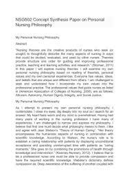 essay on philosophy of graduate nur essay on philosophy of graduate nursing education