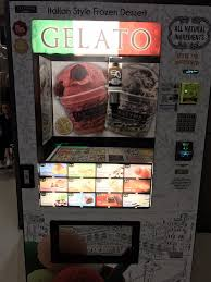 Vending Machines Los Angeles Mesmerizing Interesting A Gelato Vending Machine In The Movie Theater Lobby Yelp
