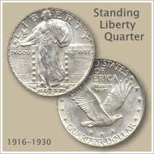 Uncirculated Standing Liberty Quarter Coin Value Chart