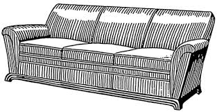 sofa clipart. free couch clipart sofa