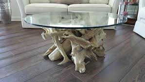 driftwood base dining table natural beige driftwood coffee table glass top round retail cost for the