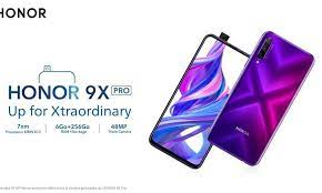 honor 9x pro will be on starting