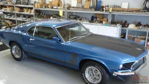 Boss 302 Mustang, # Matching, Rotisserie, Blue, All Parts Correct !