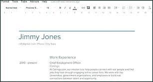Google Resume Builder Inspiration Google Docs Resume Cover Letter Template Custom Cover Letter