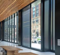 tall motorized sliding glass doors