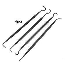 6Pcs <b>Tactical Rifle Gun</b> Cleaning Needles Hooks + Brush <b>Nylon</b> ...