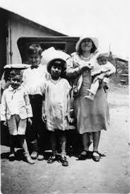 Rosa with her children - Rosa Ronquillo Rhodes - The Life of the Redington  Ranch Postmistress - Arizona Memory Project