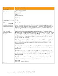 Writing Formal Letter Format