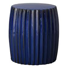 blue garden stool. Delighful Blue Garden Stools  Pleated Stool Electric Blue To E