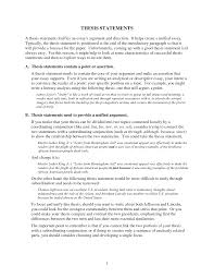essay thesis example academic essay essay thesis statement examples