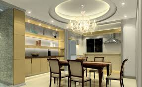 crystal dining room for luxurious impression. Modern POP Ceiling Dining Room Design Ideas Crystal For Luxurious Impression