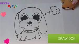 How to draw a dog | CÁCH VẼ CON CHÓ ĐƠN GIẢN