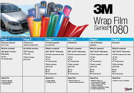 3m 1080 Colors Chart Vehicle Colour Change And Wraps A Selection Of Our Colours