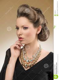 Pretty Woman Hair Style closeup of aristocratic pretty woman stock images image 35889814 7928 by wearticles.com