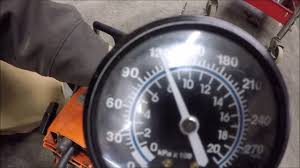 Checking Compression On A Saw Throttle Closed Vs Throttle Open